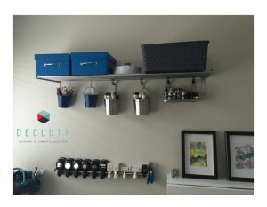 Craft Room declutter by DECLUTR, professional organiser and decluttering in Canberra